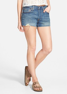Levi's® '501® 'Boomtown' Denim Cutoffs (Blue)