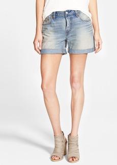 Levi's® '501® CT' Cuffed Boyfriend Denim Shorts (Coastal Bluff)