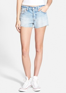 Levi's® '501®' Cutoff Denim Shorts (Light)