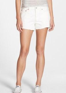 Levi's® '501®' Denim Cutoff Shorts (Vintage White)