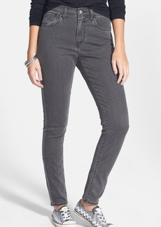Levi's® High Rise Skinny Jeans (Grey) (Juniors)
