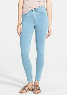 Levi's® High Waist Denim Leggings (Medium) (Juniors)