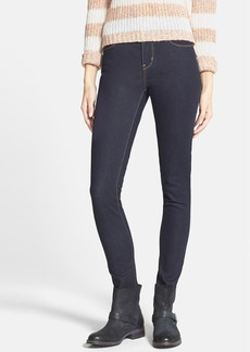 Levi's® High Waist Skinny Jeans (Dark Wash) (Juniors)