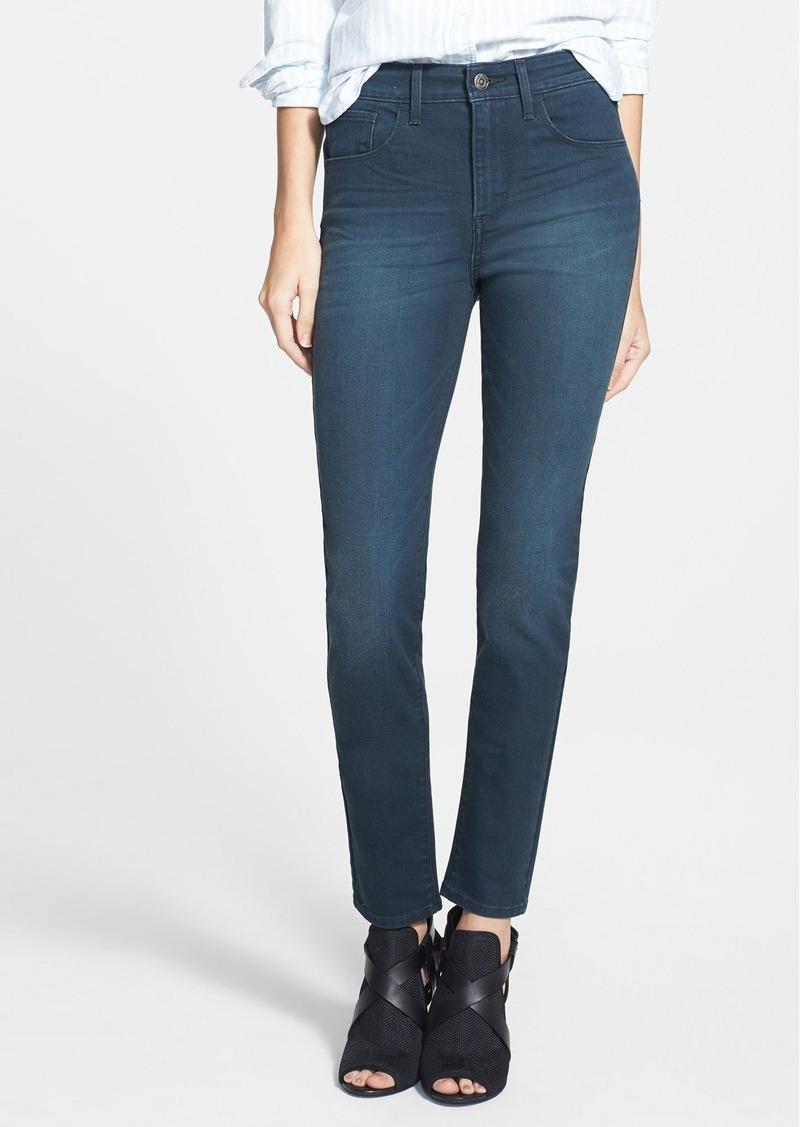 levi 39 s levi 39 s high waist skinny jeans indigo denim. Black Bedroom Furniture Sets. Home Design Ideas