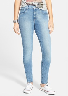 Levi's® High Waist Skinny Jeans (Light) (Juniors)