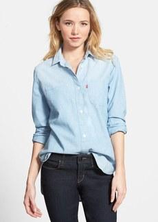 Levi's® 'Workwear Boyfriend' Chambray Shirt