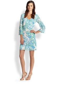 Lilly Pulitzer Alden Floral-Print Tunic Dress