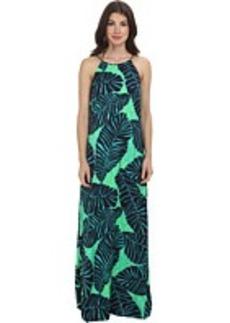 Lilly Pulitzer Angel Halter Maxi Dress