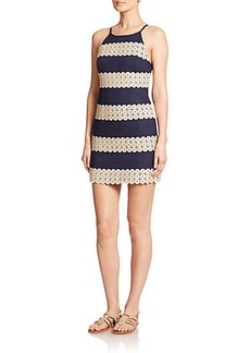Lilly Pulitzer Annabelle Lace-Panel Shift Dress