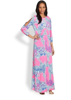 Lilly Pulitzer Ashlynn Printed Maxi Dress