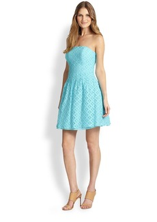 Lilly Pulitzer Caitlin Embroidered-Lace Dress