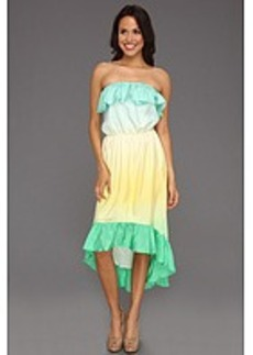 Lilly Pulitzer Caldwell Strapless Silk Dress