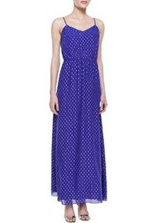 Lilly Pulitzer Deanna Metallic Clip-Dot Maxi Dress