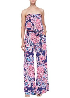 Lilly Pulitzer Farrah Printed Strapless Jumpsuit