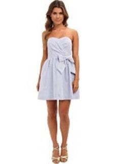 Lilly Pulitzer Henrietta Seersucker Strapless Dress