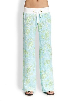 Lilly Pulitzer Linen Beach Pants