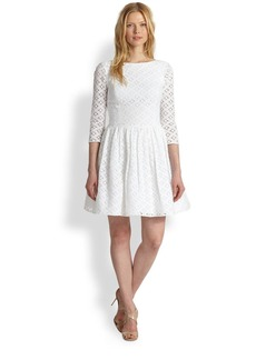 Lilly Pulitzer Lori Embroidered-Lace Dress