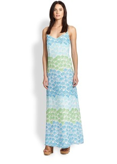 Lilly Pulitzer Silk Dusk Maxi Dress