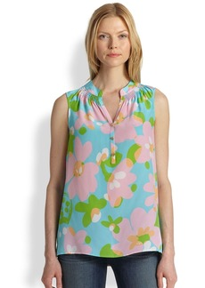 Lilly Pulitzer Silk Houston Top