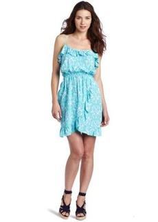 Lilly Pulitzer Women's Kalen Print Dress with Ruffle