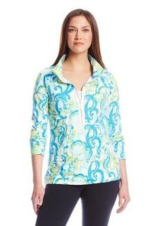 Lilly Pulitzer Women's Skipper Half-Zip Printed Sweatshirt