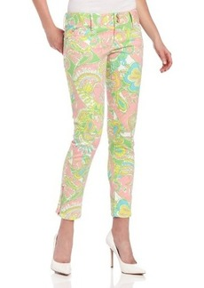 Lilly Pulitzer Women's Worth Printed Skinny Jean
