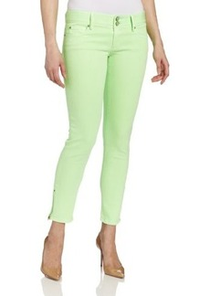 Lilly Pulitzer Women's Worth Skinny Mini-Zip Solid Jean