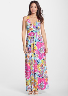 Lilly Pulitzer® 'Amada' Print Tie Back Maxi Dress