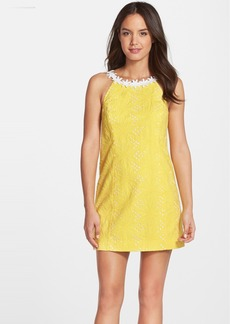 Lilly Pulitzer® 'Annabelle' Embroidered Cotton Eyelet Minidress