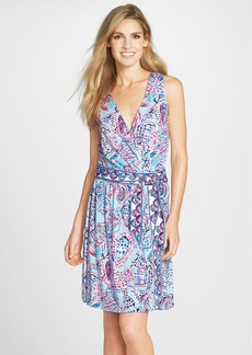 Lilly Pulitzer® 'Bellina' Print Jersey Wrap Dress