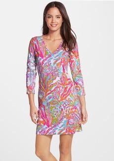 Lilly Pulitzer® 'Christie' Print V-Neck Shift Dress