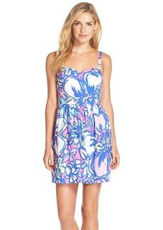 Lilly Pulitzer® 'Christine' Print Twill Fit & Flare Dress