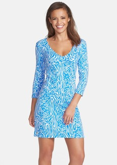 Lilly Pulitzer® 'Clarke' Print French Terry Dress