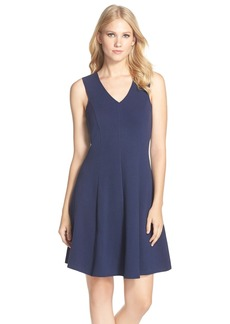 Lilly Pulitzer® 'Dahlia' Stretch Cotton Fit & Flare Dress