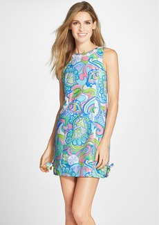 Lilly Pulitzer® 'Delia' Lace Appliqué Print Shift Dress