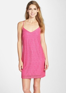 Lilly Pulitzer® 'Dusk' Metallic Lace Slipdress