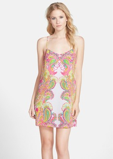 Lilly Pulitzer® 'Dusk' Print Silk Slipdress