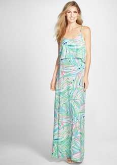 Lilly Pulitzer® 'Harrington' Print Jersey Popover Maxi Dress