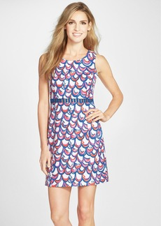 Lilly Pulitzer® 'Iggy' Print Bar Cutout Shift Dress