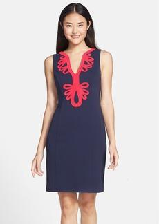 Lilly Pulitzer® 'Janice' Soutache Trim Shift Dress