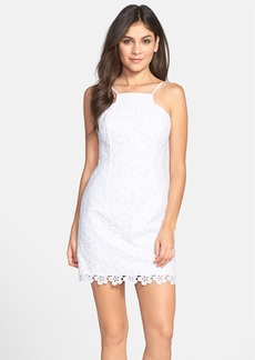 Lilly Pulitzer® 'Katie' Strappy Lace Sheath Dress
