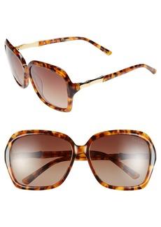 Lilly Pulitzer® 'Kelsie' 59mm Polarized Sunglasses