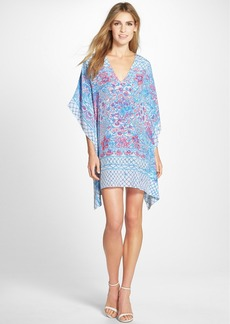 Lilly Pulitzer® 'Lindamarie' Print Silk Caftan Dress