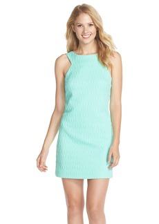 Lilly Pulitzer® 'Mango' Metallic Jacquard Shift Dress