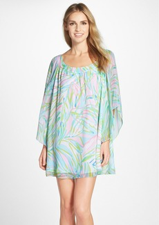 Lilly Pulitzer® 'Marietta' Print Silk Caftan Dress