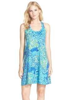 Lilly Pulitzer® 'Melle' Print A-Line Pima Cotton Tank Dress