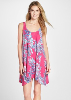 Lilly Pulitzer® 'Monterey' Print Cotton Cutout Trapeze Dress