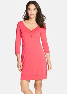 Lilly Pulitzer® 'Palmetto' Button Front T-Shirtdress