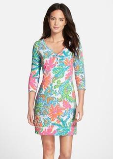 Lilly Pulitzer® 'Palmetto' Print Pima Cotton T-Shirt Dress