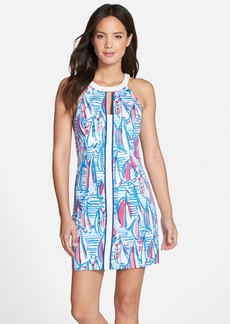 Lilly Pulitzer® 'Pearl' Embroidered Cotton Shift Dress